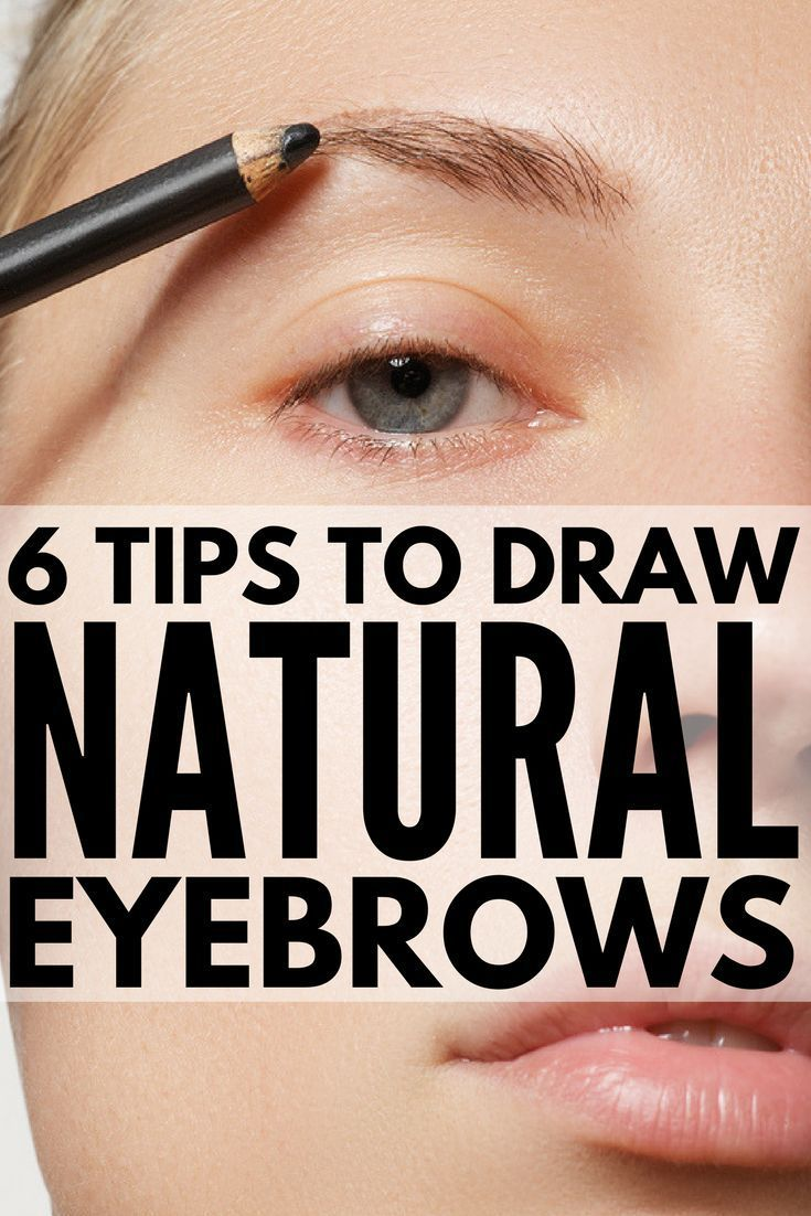 Tips and Products to Teach You How to Draw Eyebrows Naturally in