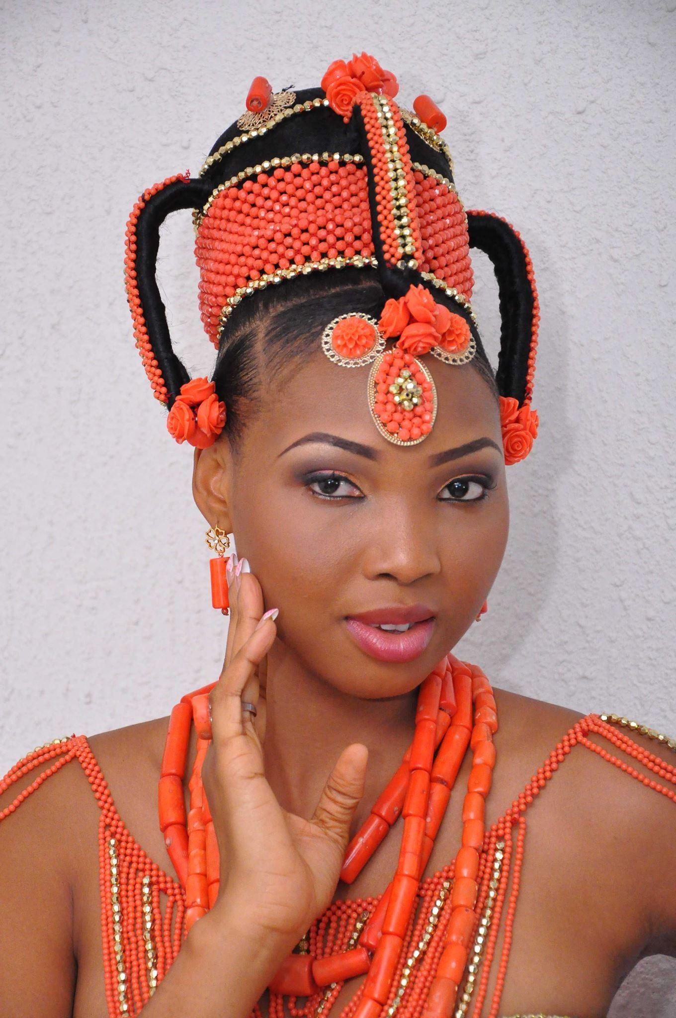 Amakaus headshot coral naija wedding beautiful family nigeria