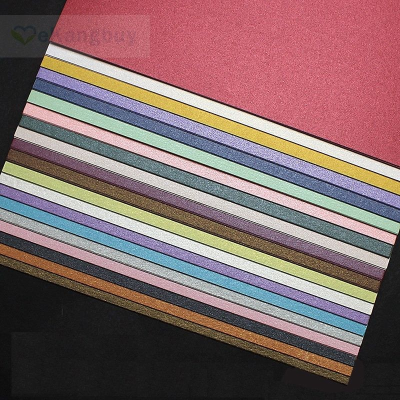 A5 Pearl Cardstock Color Card Card Stock Pearl Color