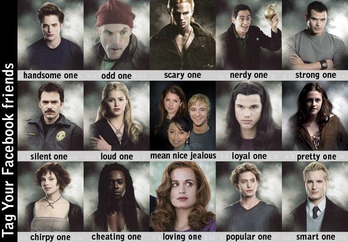 Twilight character names