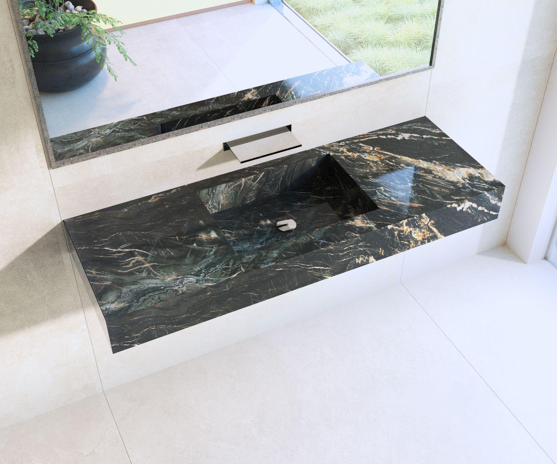Plan Travail Granit Portugal le moins que l'on puisse dire sur ce plan vasque en granit