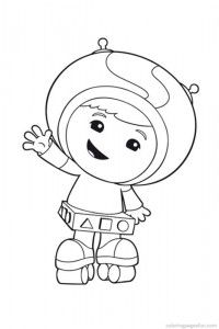 Team Umizoomi Coloring Pages 8 Party Pinterest Birthdays