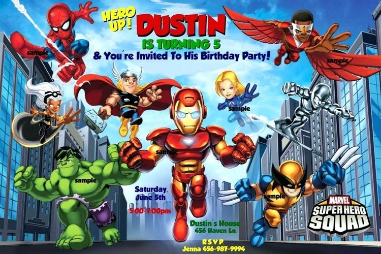 Avengers Birthday Invitations Templates Free Party Invite Template Superhero Party Invitations Superhero Invitations