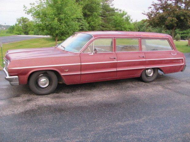 Lt1 Swapped 1964 Chevrolet Impala Wagon Chevrolet Impala