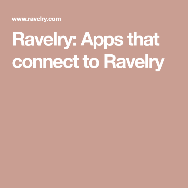 With the rising importance of mobile platforms, we set out to design a user-friendly app for Ravelry that encourages new users to interact with the community.