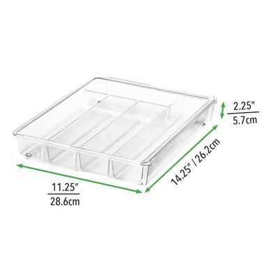 Plastic Expandable Kitchen Drawer Cutlery Tray Kitchen