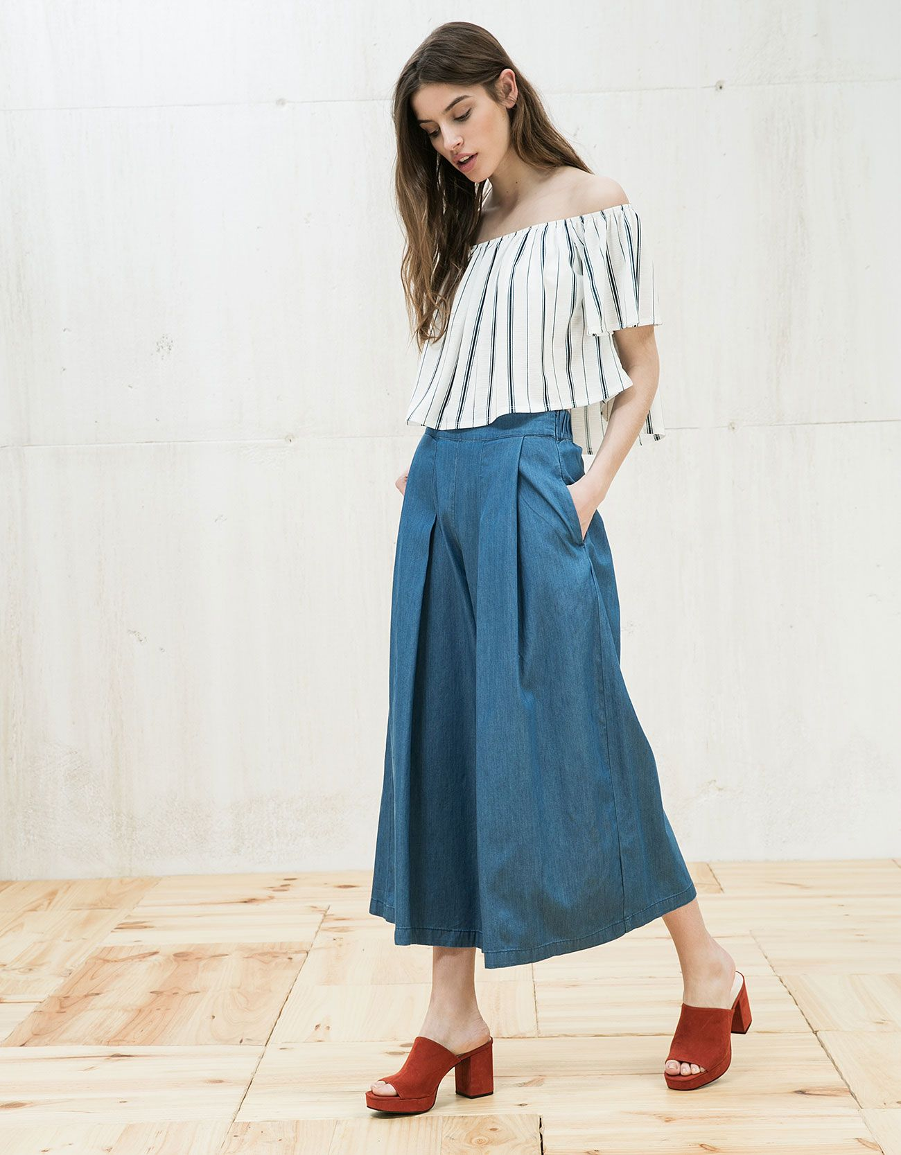 How to wear: Culottes | Hosenrock