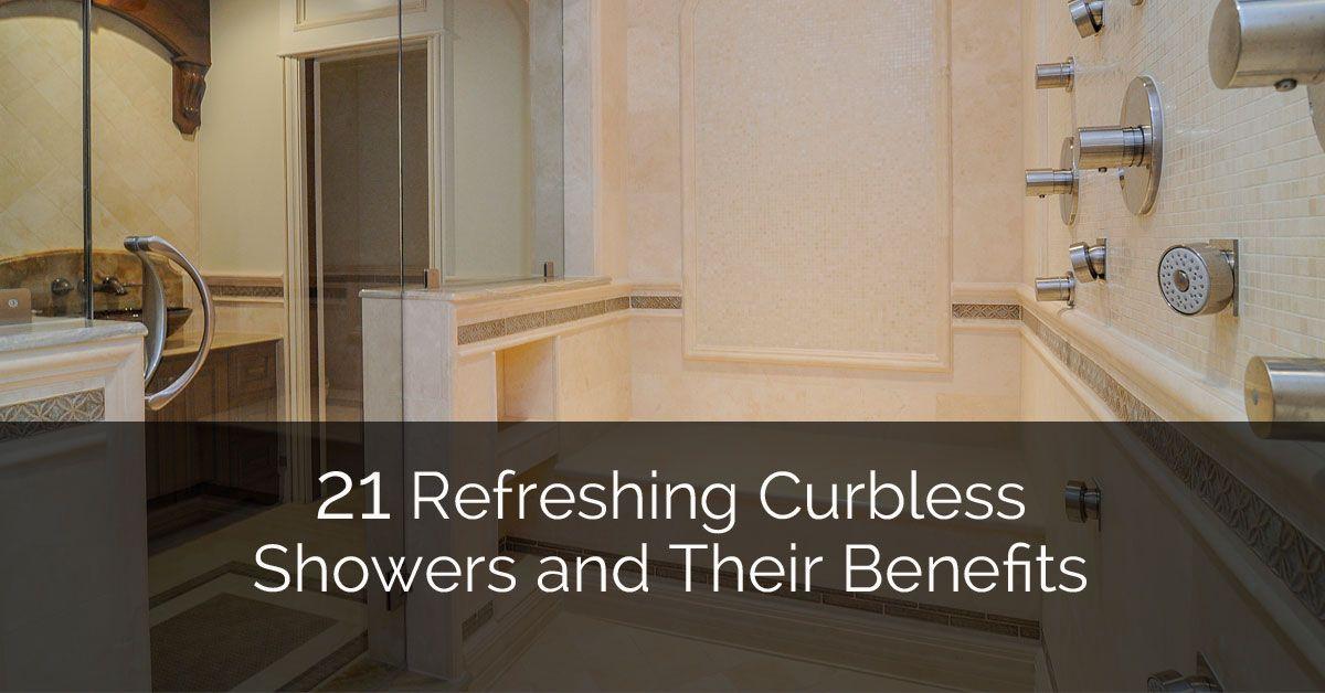 21 Barrier Free Curbless Shower Ideas Walk In Shower Designs