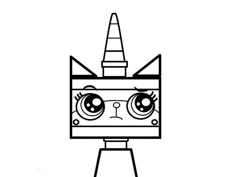 Unikitty Coloring Pages To Print