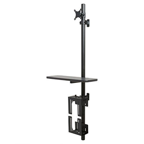 #manythings.online Versa Tables #Adjustable #Wall Mount Computer Station The Adjustable Wall Mount Computer Station is a space saving solution for small or confin...