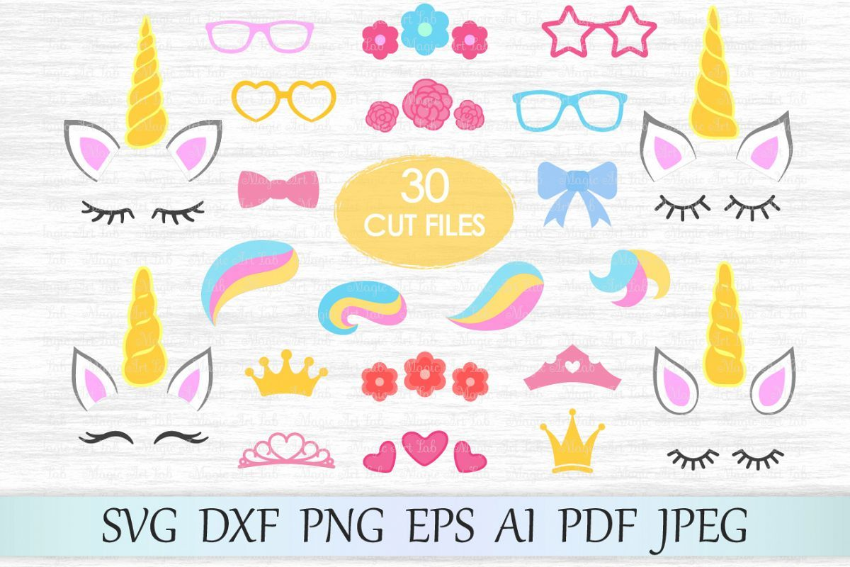 Where To Find Great Free SVG Files Unicorn card, Unicorn