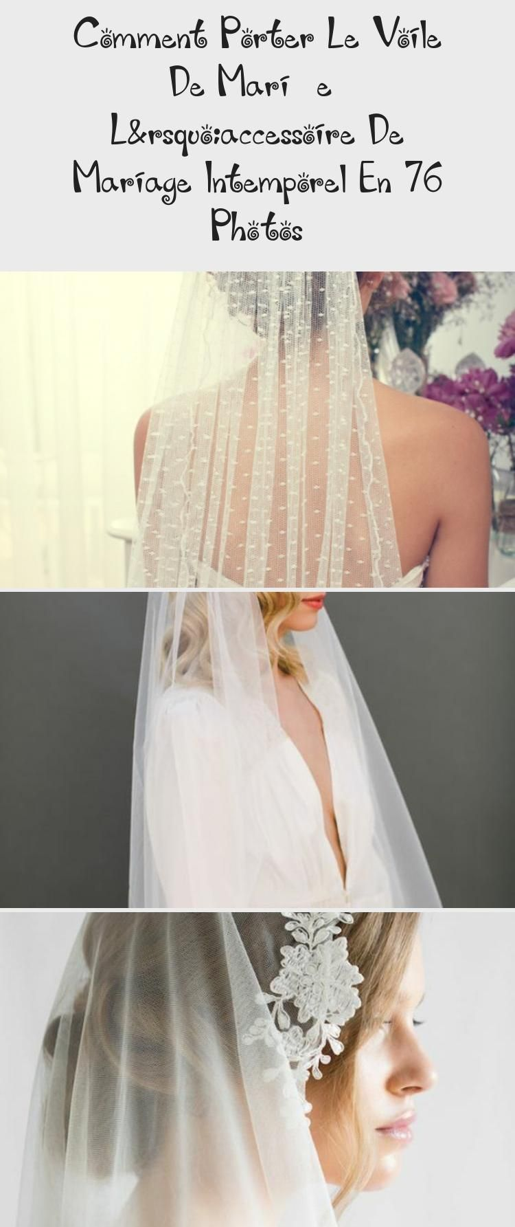 Photo of How To Wear The Bridal Veil – The Wedding Accessory …