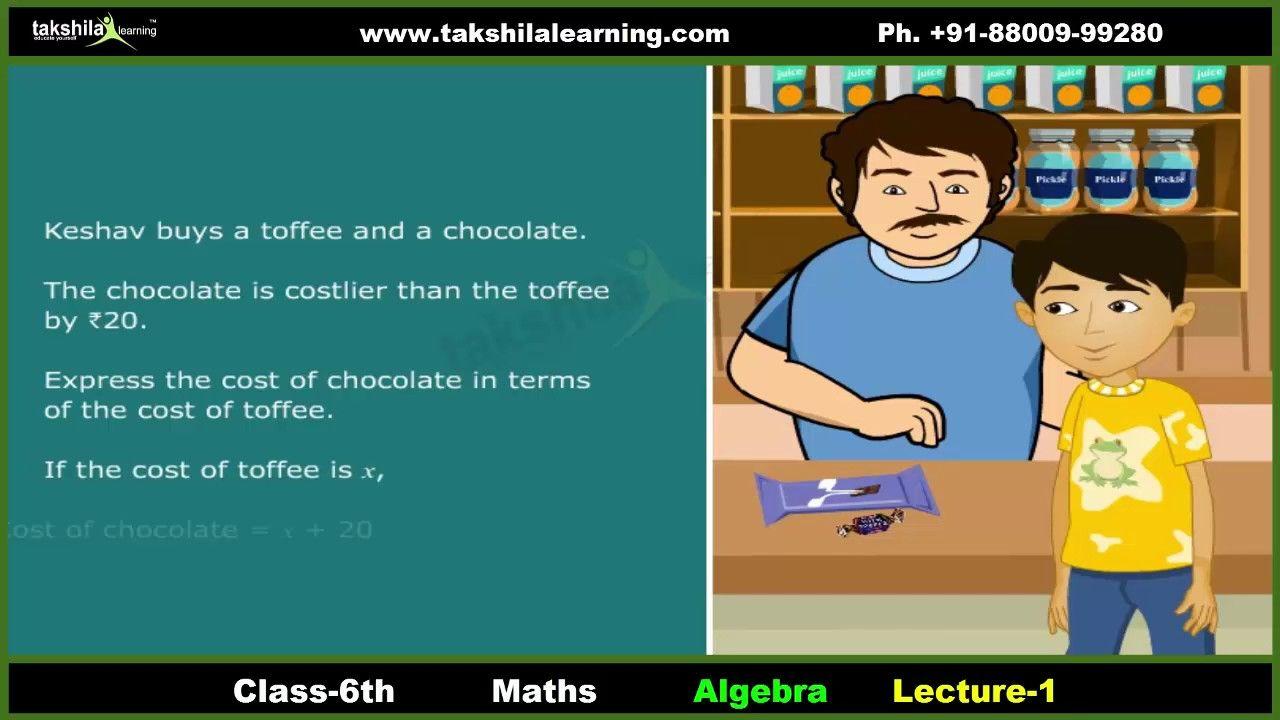 Pin by Takshilalearning on CBSE Class 6 Maths   Pinterest   Algebra ...