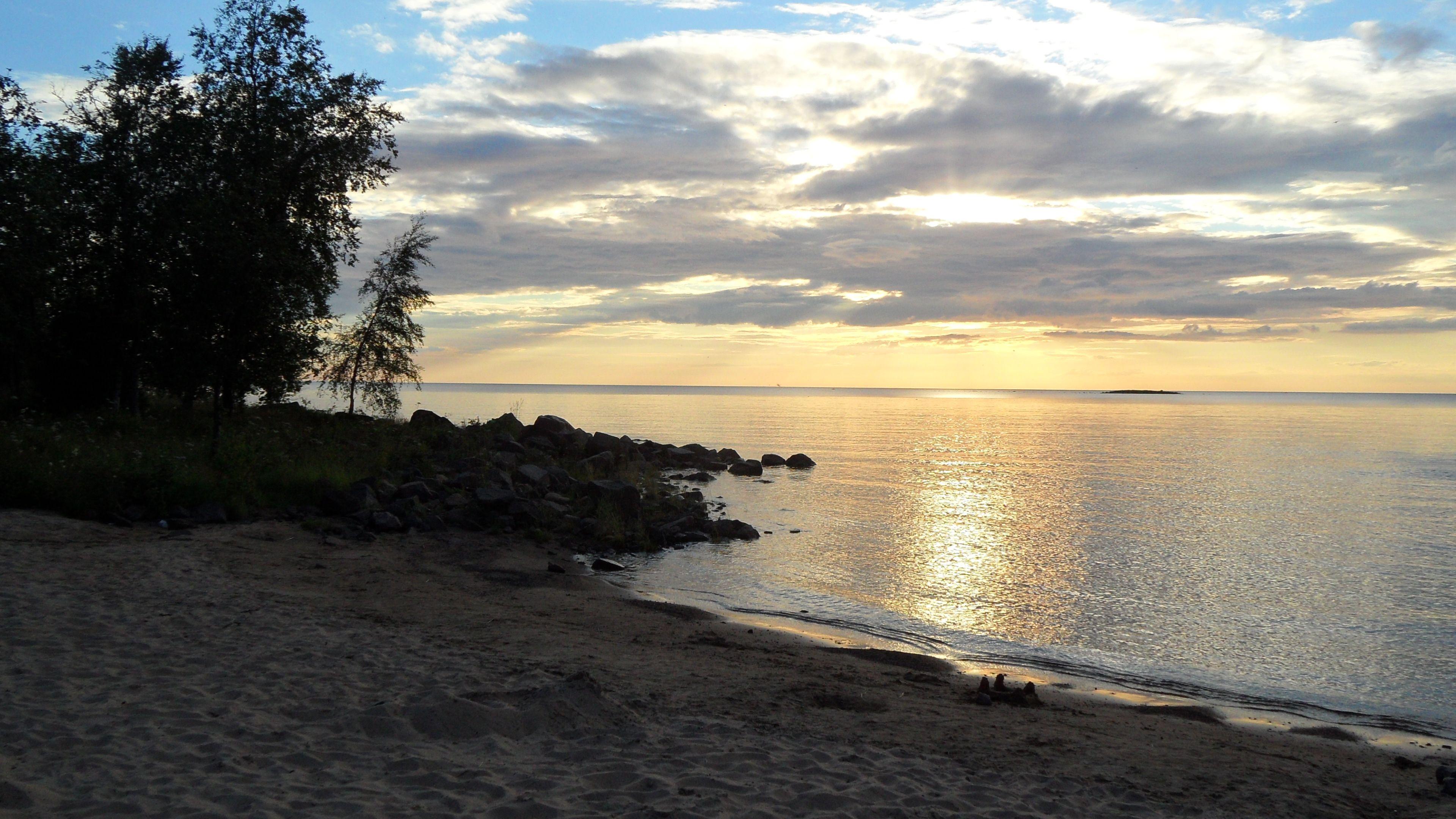 Raahe, meren ranta