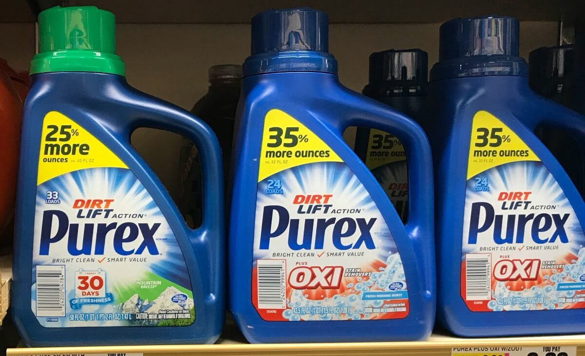 New 1 1 Purex Laudry Detergent Coupon Free At Shoprite More