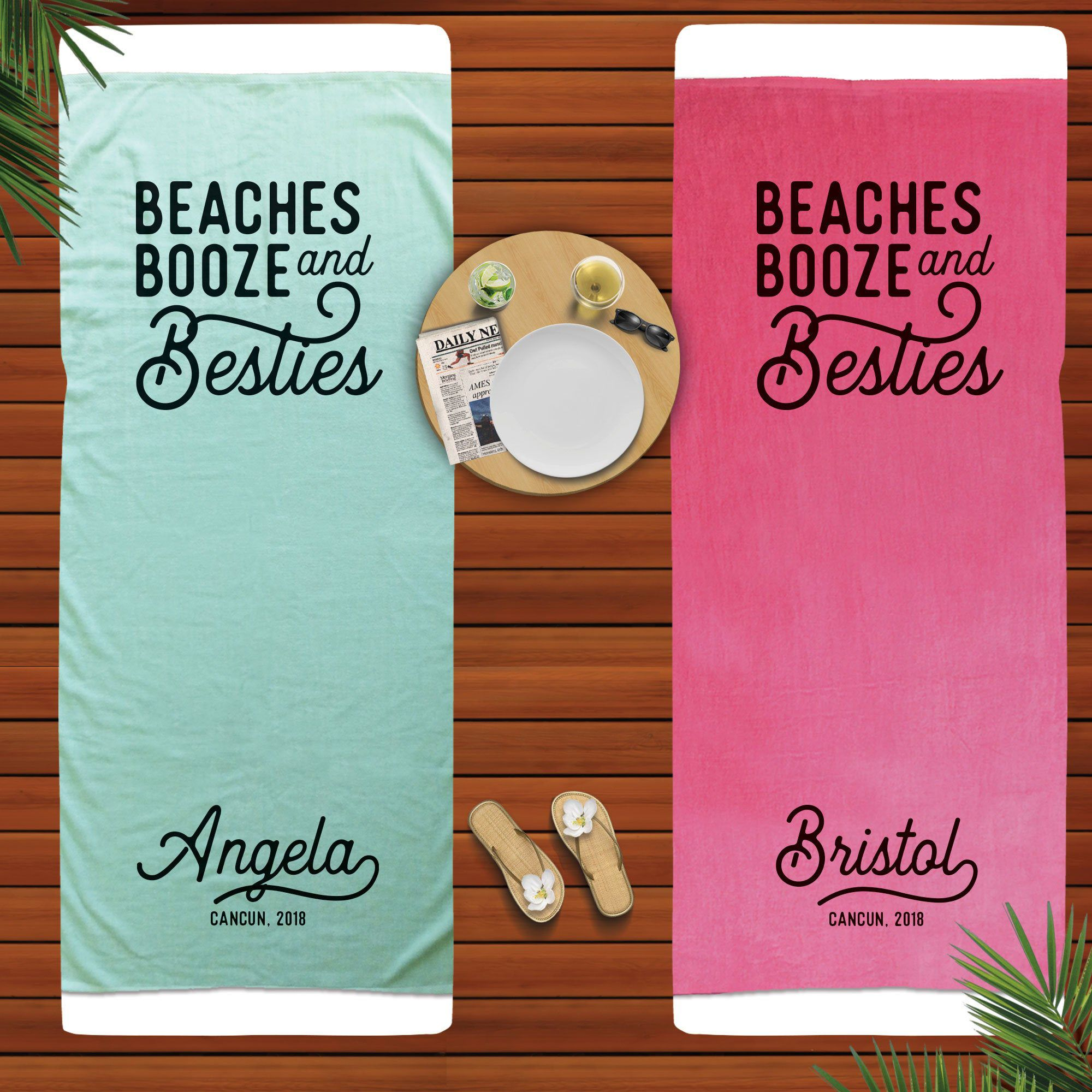 Photo of Beach Bachelorette Party Gifts Bridesmaid Towel Beach Bach F…