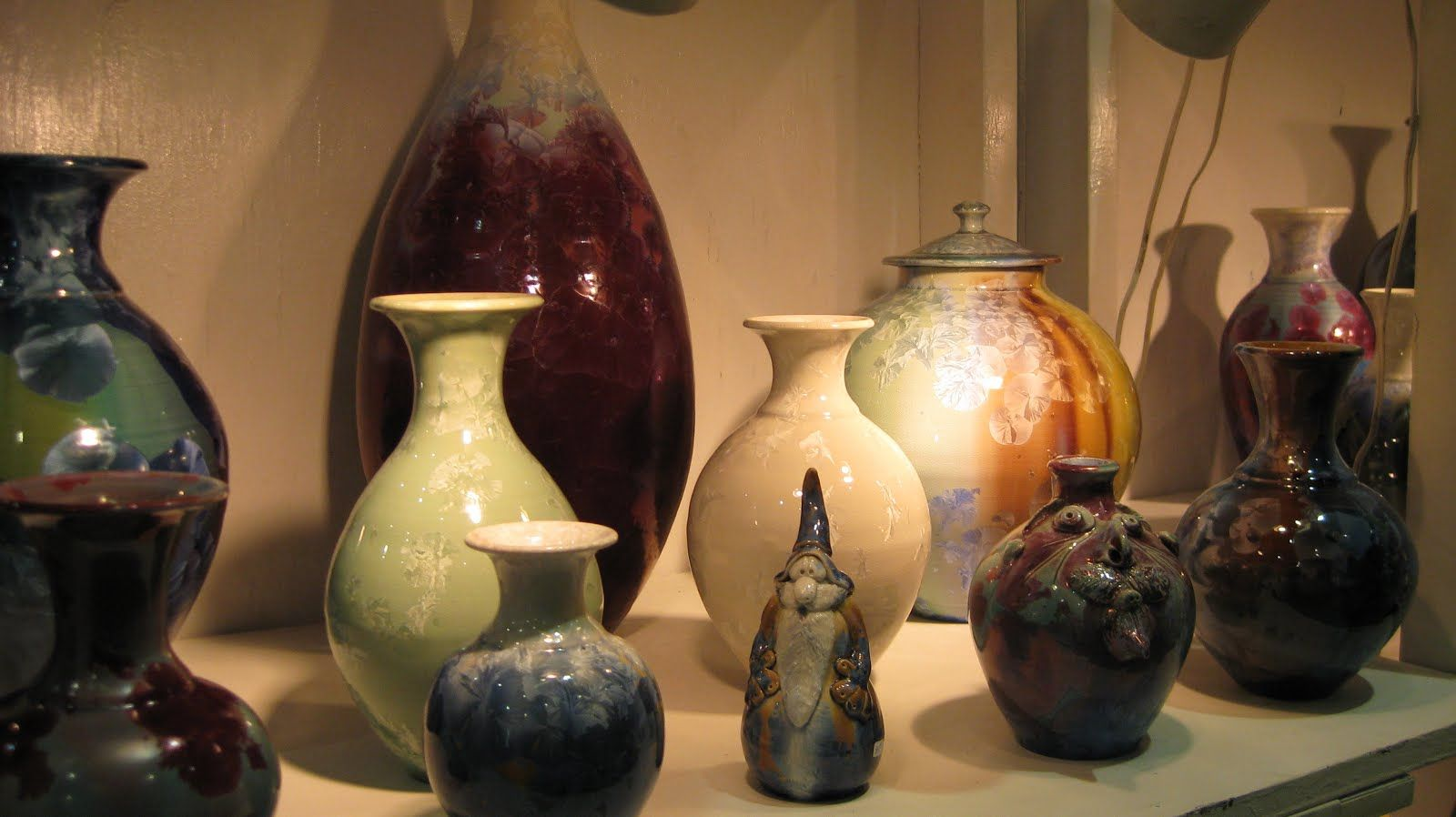 IN HIM WE LIVE AND MOVE AND HAVE OUR BEING: The beauty of pottery