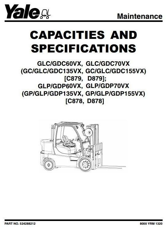 Yale forklift truck d878 series gdp60vx gdp70vx glp60vx glp70vx original factory manuals for yale forklift trucks contains high quality images circuit diagrams and instructions to help you to operate swarovskicordoba Choice Image