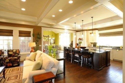 Crawford Ceiling, Open Floorplan