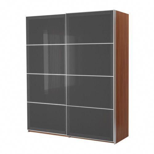 PAX Wardrobe with sliding doors IKEA Sliding doors require