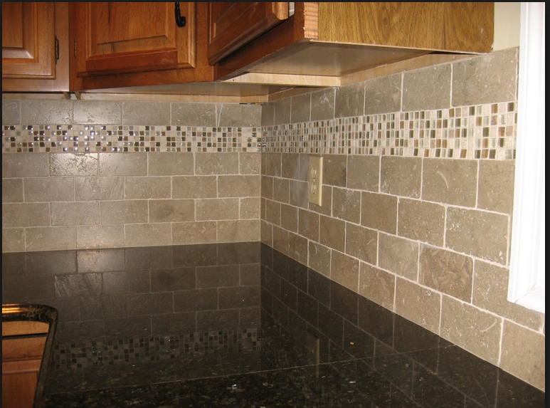 Backsplash Stone Accent