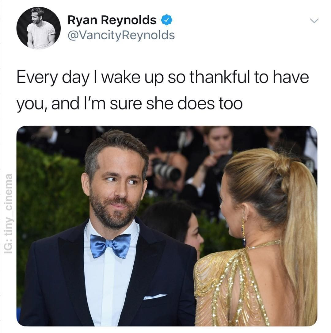 Pin by Angelica on Tweets in 2020 Ryan reynolds funny
