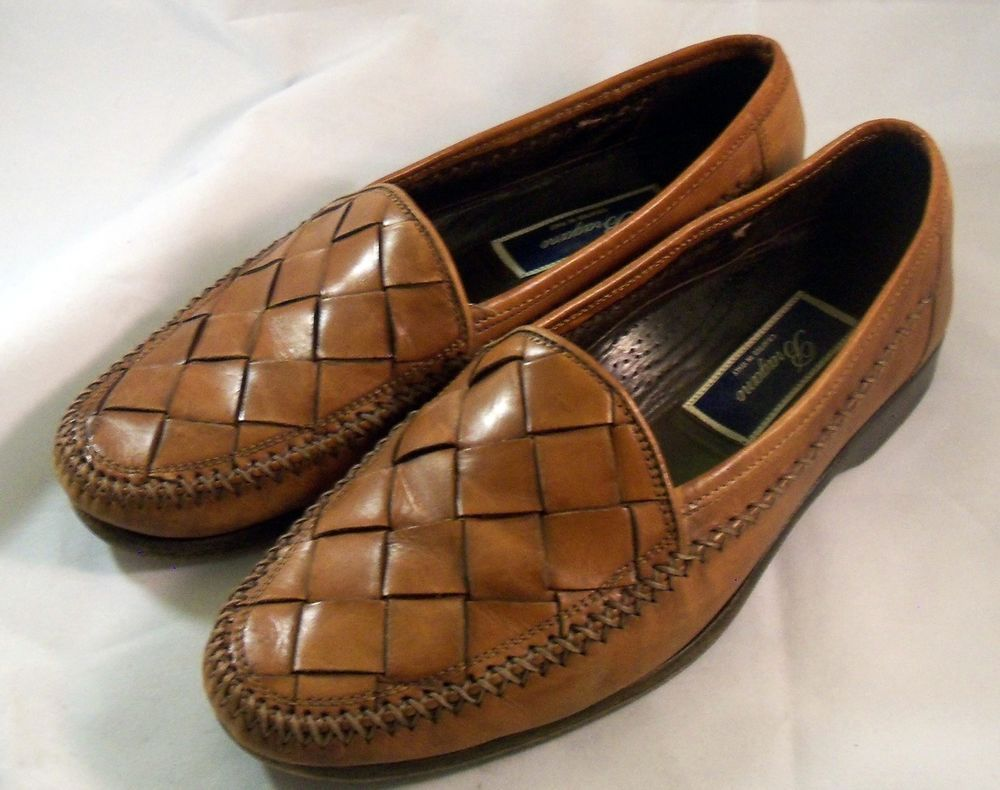244a466def8b BRAGANO by COLE HAAN ~ Men s Brown   Tan Woven Italian Loafers ~ Size 7.5 M