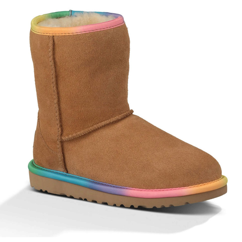 UGG Australia Men's Classic Short Rainbow Boots