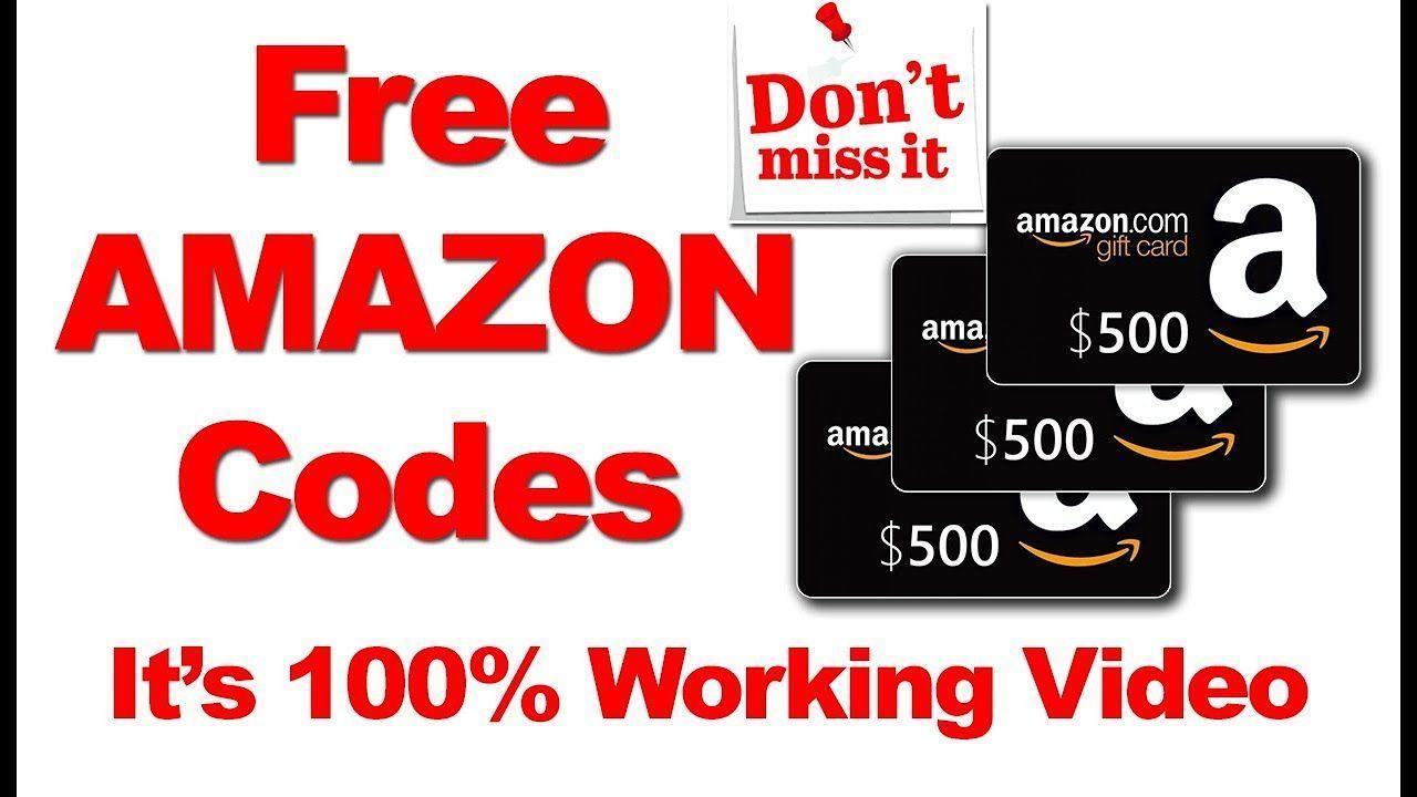 Free Amazon Gift Card Codes Amazon Gift Card Code Generator