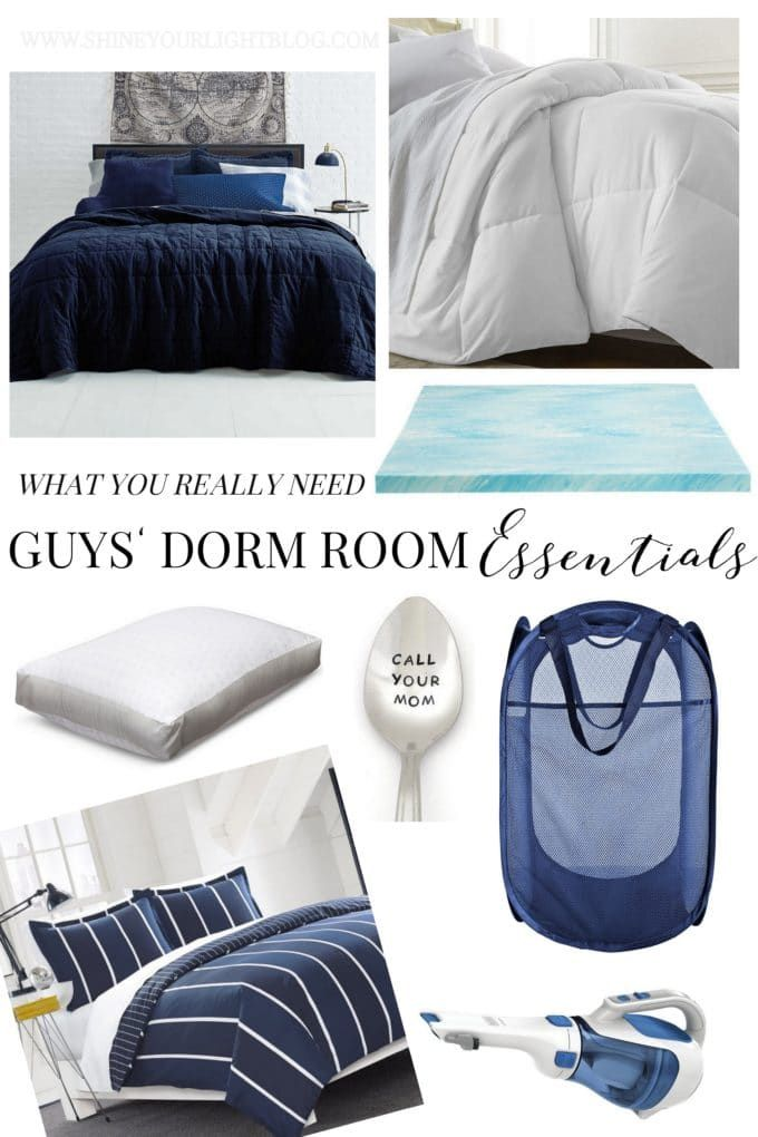 The Guys' Guide to Dorm Room Essentials images