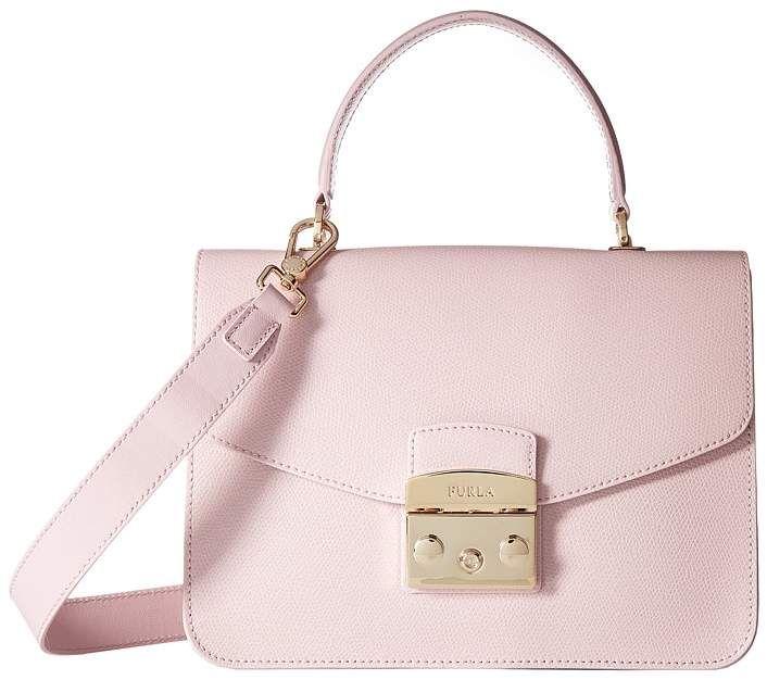 246f49a17 Furla Metropolis Small Top Handle Handbags   Products   Furla ...