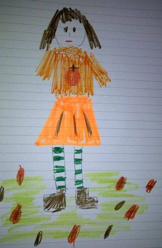 FALL LOTTIE Lottie dolls outfit design competition entry by Hester, age 9, from Seattle, USA