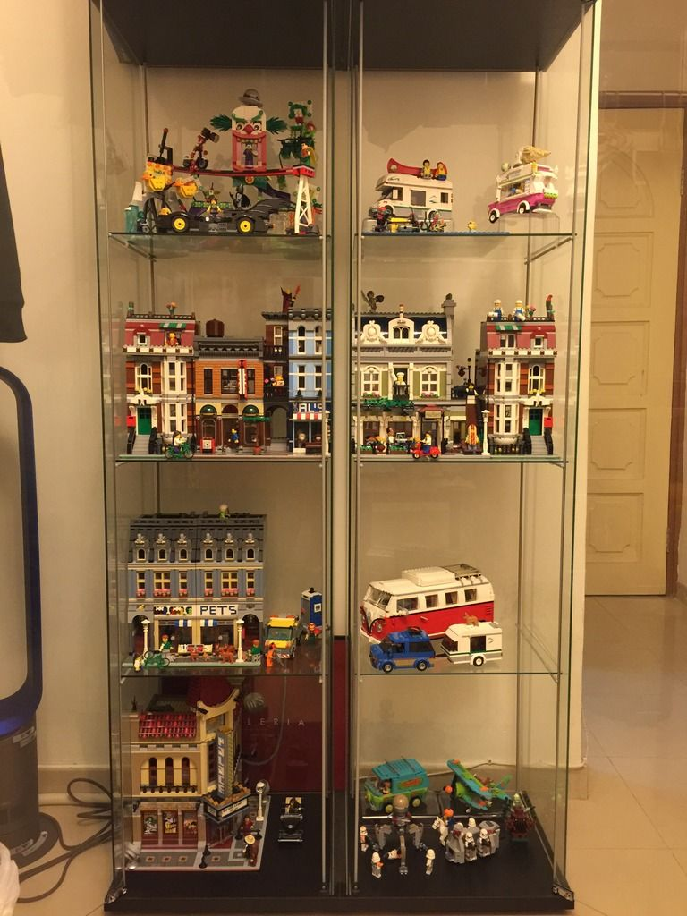 How Do You Display Your Modular Building Collection In