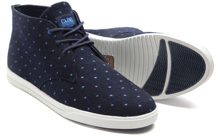 The dots on this CLAE shoe are a tad bold, but I love the
