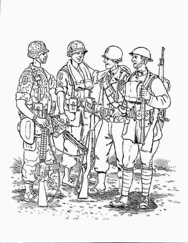 Army Men Coloring Coloring Pages Mermaid Coloring Pages Memorial Day Coloring Pages