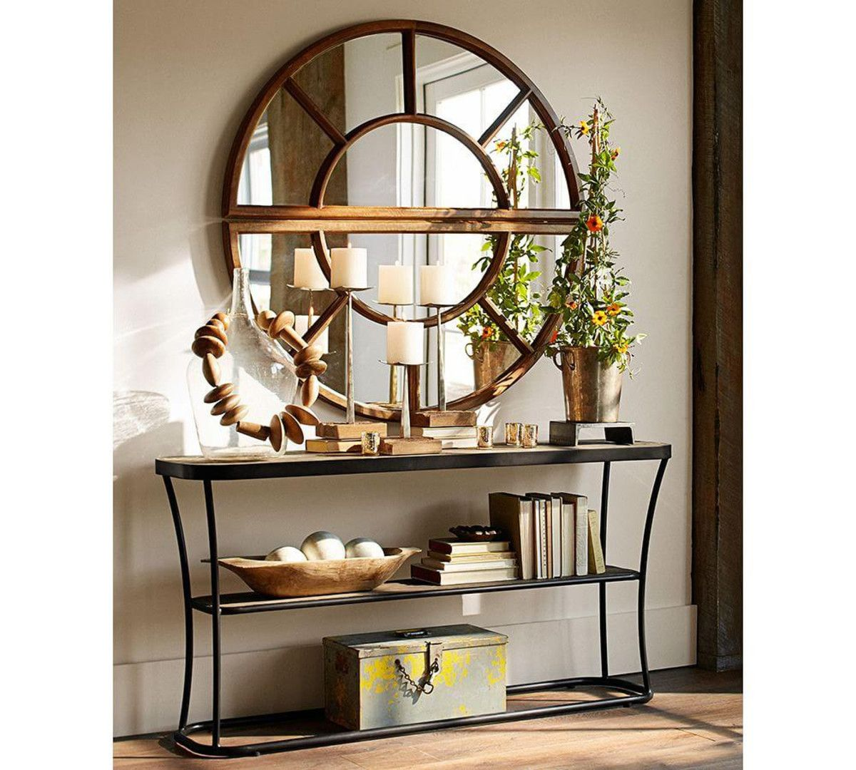 Arched Paned Mirror Mesa De Centro Madera Decoraci 243 N De