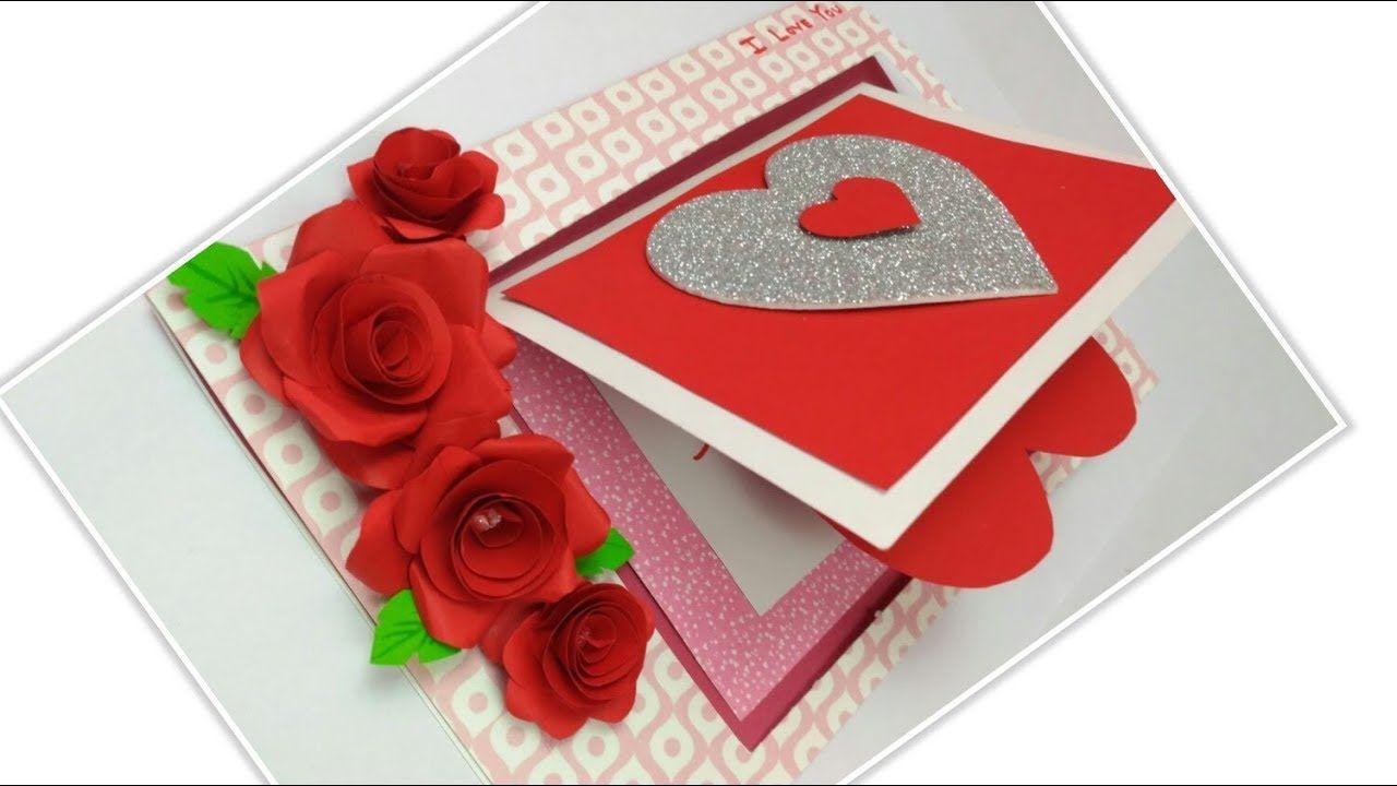 Handmade Love Card For Someone Specialvalentin Handmade Love