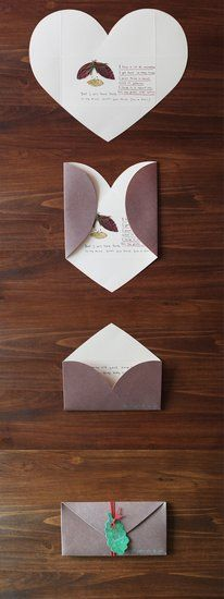 Brown Love Letter Birthday Cards For Boyfriend Diy Gifts Girlfriend Handmade