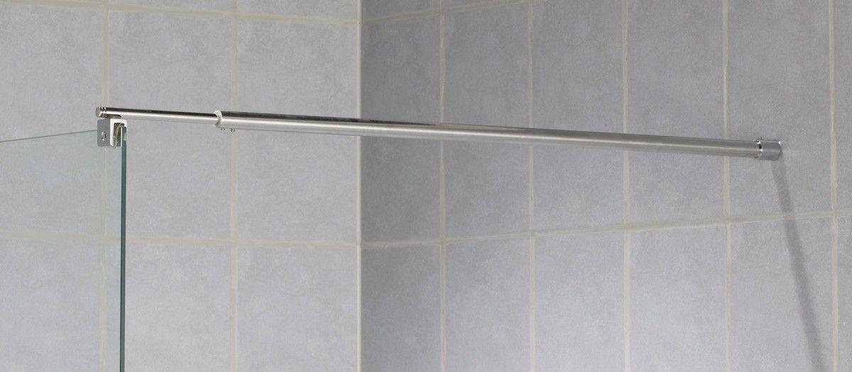 Suihkuseinän seinä- ja lattiatuki SS-01B