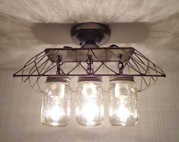 cottage mason jar chandelier. Great Jar Lights For Your Farmhouse Or Cottage. Mason Chandeliers, Pendants And Lighting Fixtures. Cottage Chandelier Y