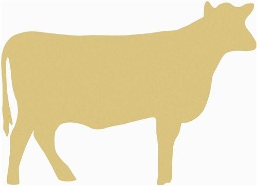 Cow Unfinished Cutout Wooden Shape Paintable Wooden Mdf Diy Craft Wooden Craft Shapes Easy Diy Crafts Paint Diy Crafts