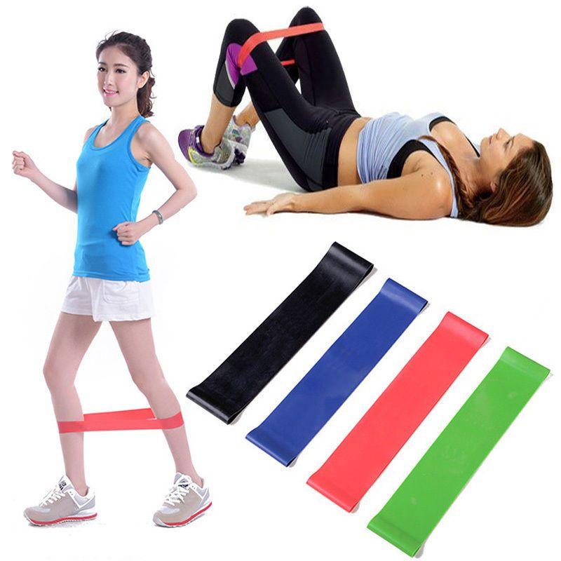 Resistance Band Tube Set Home Gym Fitness Exercise Workout Heavy Yoga Training