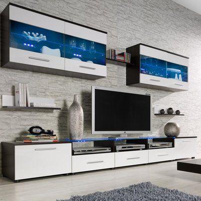 Orren Ellis Cerie Entertainment Center for TVs up to 88\
