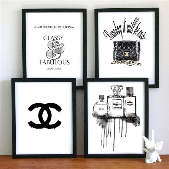 Best 4 Chanel Dream Prefume Original Illustration Art Print 640 x 480