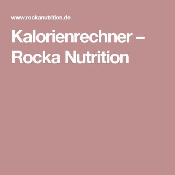 rocka kalorienrechner