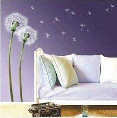Wandtattoo-Blumen-9-Motive-zu-Auswahl-Wohnzimmer-Schlafzimmer-Deco
