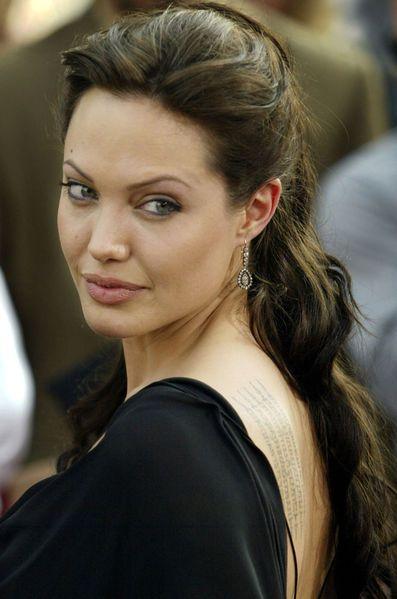 Il Etait Une Fois Angelina Jolie Belles Actrices Yeux Angelina Jolie Maquillage Angelina Jolie