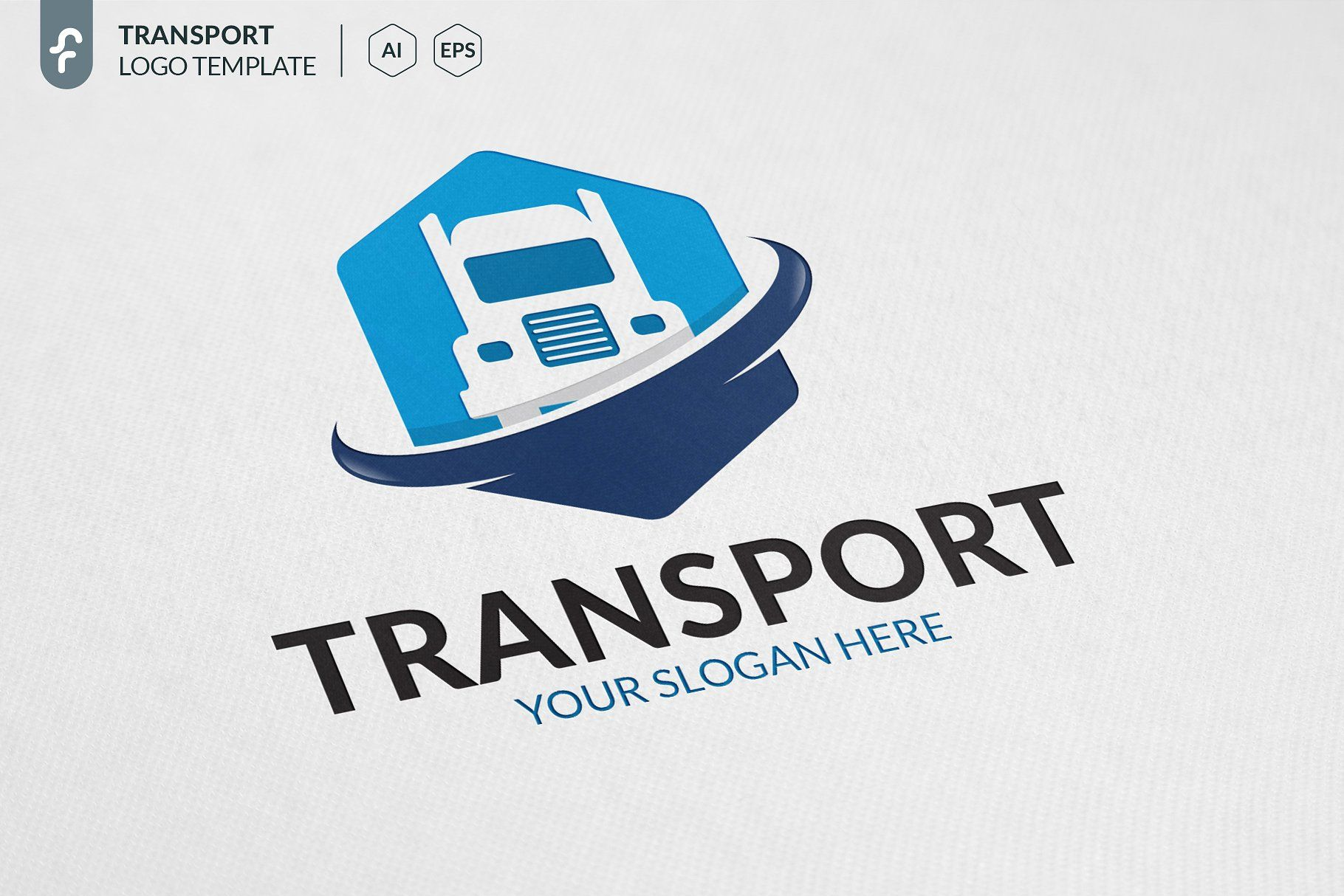 Transport Truck Logo TruckTransportTemplatesLogo