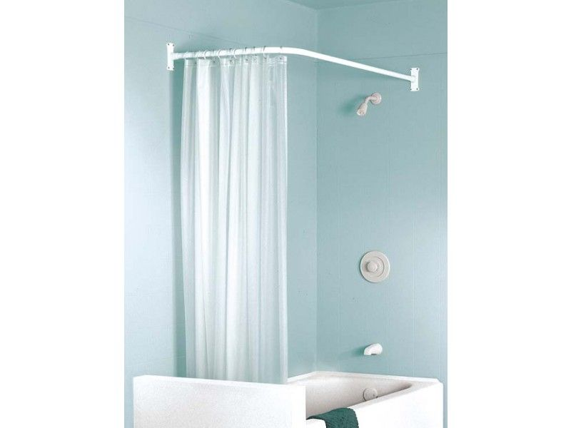 L Shaped Shower Curtain Tub Google Search Shower Curtain Rods
