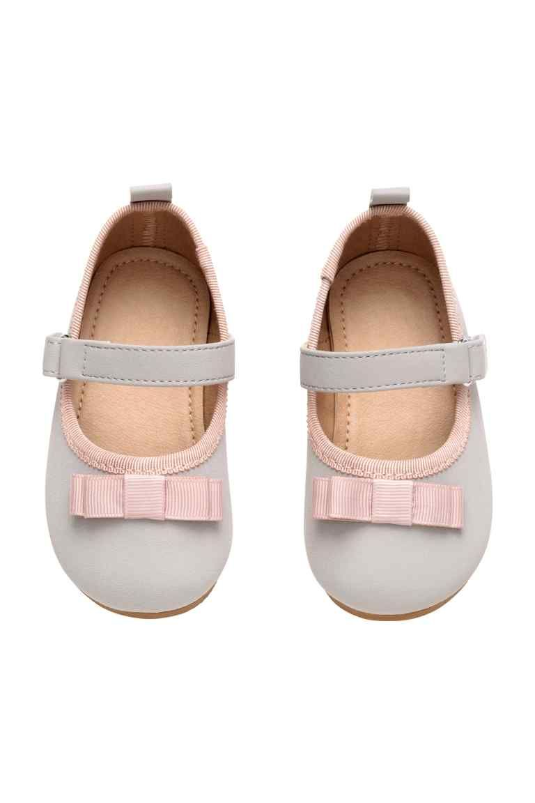 Ballet pumps - Light grey - Kids | H&M GB 1